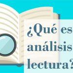 qué es un análisis de lectura